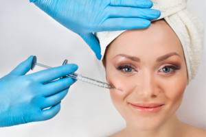 Botox training for nurses through cheek injections
